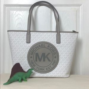 MICHAEL KORS Fulton sport medium tote with logo